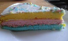 Pepetine mňamky : Colored cake ispiration Vanilla Cake, Desserts, Color, Tailgate Desserts, Deserts, Colour, Postres, Dessert, Plated Desserts