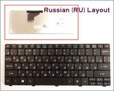 New Keyboard RU Russian Version for Acer Aspire One AOD532H AO532H-2527 AO532H-2406 AO532H-2789 AO532H-2742 Laptop Black #Affiliate
