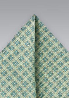 Ziertuch feines Waffel-Pattern lindgrün