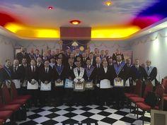 RITO    BRASILEIRO   DE MAÇONS ANTIGOS LIVRES E ACEITOS - MM.´.AA.´.LL.´.AA.´.: Loja Heráclito Victória Recebe Homenagem da Vicar´...
