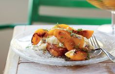 BRIOCHE FRENCH TOAST WITH ROASTED PEACHES, YOGHURT AND MINT http://www.delicious.com.au/recipes/brioche-french-toast-roasted-peaches-yoghurt-mint/81c23b0b-cda2-45a9-ae5e-1461117de22f?current_section=recipes&adkit_ref=/recipes/collections/alla-wolf-taskers-best-ever-recipes/6233317c-3e4e-47fa-918e-526463b33426