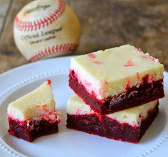 Red Velvet Cheesecake Brownies recipe: http://foodloveplace.blogspot.co.uk/2013/11/red-velvet-cheesecake-brownies-recipe.html