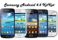 Samsung S4 Mini & S3 Mini Akan Menerima Android KitKat