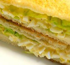 休みなのに早起き、今朝のお・は・よ・うサンドはレタス&卵サンドだよ。 - 154件のもぐもぐ - 今朝の  お・は・よ・うサンド by mottomatu