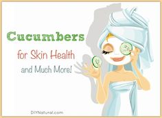 Using cucumber for acne and other skin blemishes will help clear things up. Read about that and five other surprising, healthy ways to use cucumber! *** Learn more by visiting the image link. Beauty Tips For Hair, Natural Beauty Tips, Diy Beauty, Beauty Care, Beauty Hacks, Cucumber For Skin, Cucumber Beauty, Cucumber Mask, Natural Acne Remedies