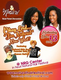 Natural Hair Festival 2014 Incoming Event will be on: Friday - Sunday December - 2014 NRG Center Houston, TX (Formerly Know as Reliant Center) Hair Vitamins, Hair Shows, Houston Tx, Natural Hair Styles, Hair Makeup, December, Sunday, Vitamins For Hair, Domingo