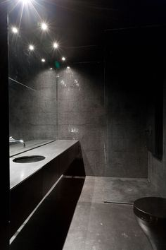 The Inhabitable Sculpture by Jean-Maxime Labrecque | HomeDSGN, a daily source for inspiration and fresh ideas on interior design and home decoration. [This is a PERFECT bathroom!!!]