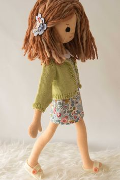 Liberty Fabric Doll Wardrobe: 6 pieces by PhoebeandEgg on Etsy