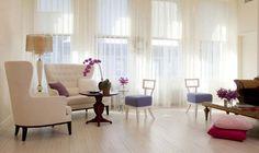 большие окна - преимущества интерьера