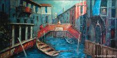 Backdrops: Gondola Bridge 1