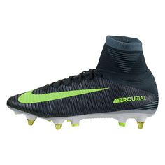 Nike Mercurial Superfly V CR7 SG Soft Ground Cleat (Seaweed Metallic  Silver Volt Racing Green) 7a6b832e5f591