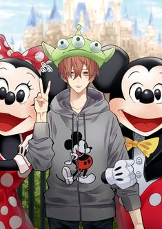 doppo with minnie n mickey lmao Boy Illustration, Character Illustration, Dark Drawings, Bird Artwork, Handsome Anime Guys, Boy Pictures, Rap Battle, Les Oeuvres, Manga Anime