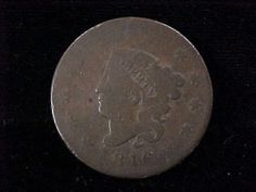 1816 Coronet Head Large One Cent Coin AG Condition Priced 2 Sell | eBay