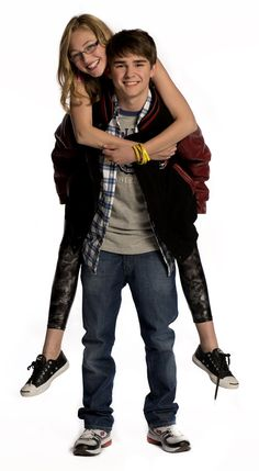 Olivia Scriven (Maya) and Dylan Everett (Cam) #DegrassiSeason12