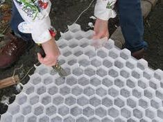 Image result for honeycomb gravel driveway