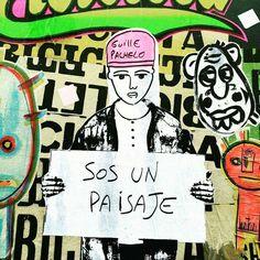 Guille Pachelo, miembro de BA Paste Up, un movimiento artístico que interviene en la vía pública mediante la técnica de pegatinas creando collages y murales colectivos. Cuties Image, Street Quotes, Words Can Hurt, Magic Quotes, Love Now, Life Words, Jokes Quotes, Cool Names, Mood Quotes