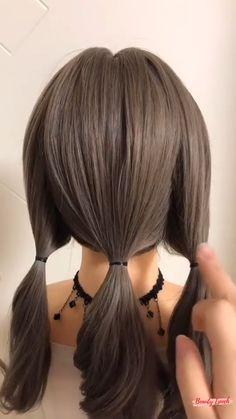 Work Hairstyles, Braided Hairstyles Tutorials, Easy Hairstyles For Long Hair, Hair Tutorials, Hairdos, Pretty Hairstyles, Updos, Hair Up Styles, Medium Hair Styles