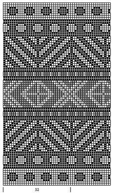 Mustrilaegas: AA Kirjatud kudumid / узорчатые вязаные