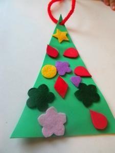Tactile Christmas Tree Craft