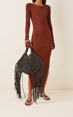 Black Basket, Open Weave, Resort Wear, Who What Wear, Warm Weather, New Fashion, Skirts, How To Wear, Fashion Design