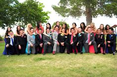 Cute group prom picture