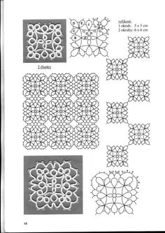 Community wall photos Shuttle Tatting Patterns, Needle Tatting Patterns, Tatting Jewelry, Tatting Lace, Crochet Motif, Crochet Designs, Diy Lace Earrings, Vintage Sewing Machines, Square Patterns