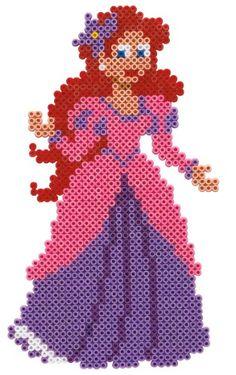 Ariel Disney hama perler beads