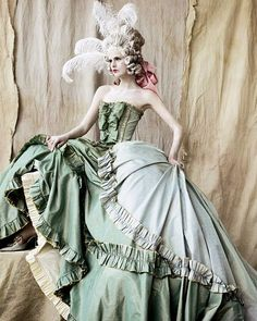 ☆christian dior haute couture by mario testino for vogue