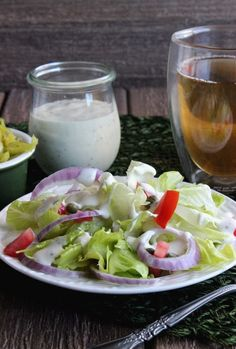 Dairy Free Ranch Dressing is rich and creamy and simple to make. Fun and creative then use it on tacos, appetizers, salads and as a dip.