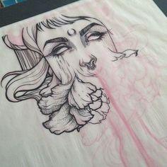 Progress on my tattoo desgin. Only blackwork and dotwork on this bod. http://jennaleeauclair.storenvy.com/ Jennalee Auclair ©