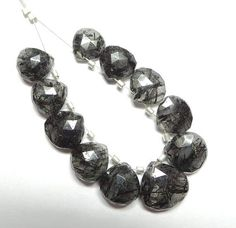 Brilliant Super Top Quality Natural Untreated Black Rutilated Rutilated Quartz, Natural, Bracelets, Top, Black, Jewelry, Fashion, Bangles, Spinning Top