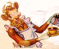 Borden's Eagle Brand milk ad starring Elsie the Cow.sweetened condensed milk Mama used for cooking. Wonder why it never occurred to us to use it in coffee. Chocolate Cake With Coffee, Chocolate Glaze, Chocolate Desserts, Coffee Cake, Melting Chocolate, Retro Recipes, Vintage Recipes, Milk Recipes, Cake Recipes