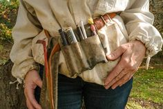Mary's bee yard tool belt