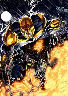 Nova vs. Ghost Rider - James O'Riley