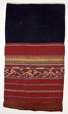 Skirt  Date: 20th century Culture: Thai (L'wa peoples)