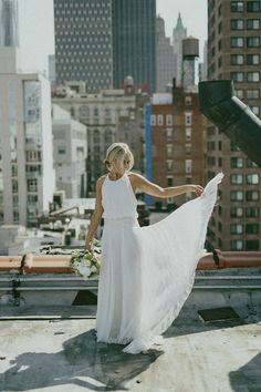 New York City bridal portrait