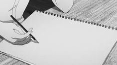 What to draw.what to draw.(gif at link) Anime Gifs, Anime Art, Gif Animé, Animated Gif, Main Manga, Chibi, Arte Obscura, Aesthetic Gif, Animation