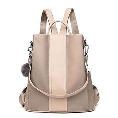 1882e2f029785 LOSMILE Damen Rucksack Handtaschen Nylon Daypack Umhängetasche  Reiserucksack Schulrucksack Backpack Schultertasche PU Leder - EUR 22.99