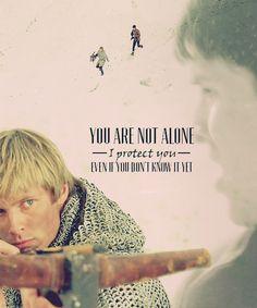 Merlin & Arthur. they make a pretty good team
