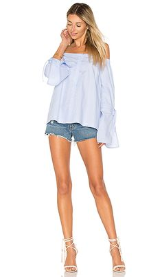 233ec2eda5293b Shop for LIKELY Allington Top in Light Blue at REVOLVE. Free 2-3 day