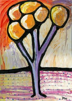 Tree (Acrylic) - 2010 - Arek Jackowski - Arek Jackowski - http://www.jackowskidesign.com/paintings/
