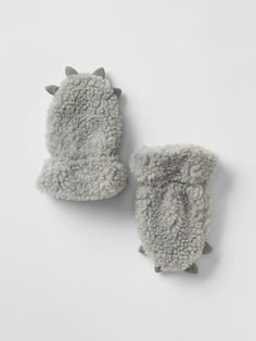Sherpa bear mittens Product Image