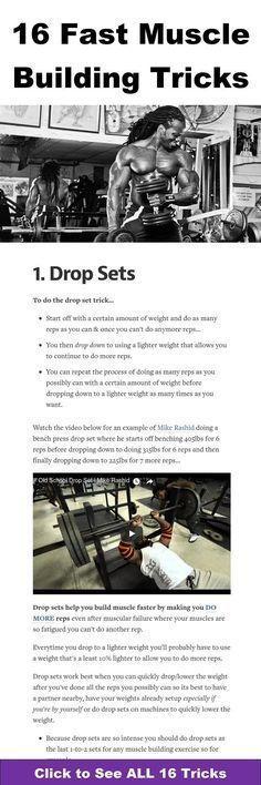 16 fast muscle building tricks https://www.musclesaurus.com/bodybuilding/ https://www.musclesaurus.com/bodybuilding/