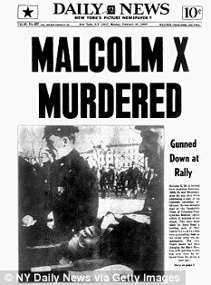 New York Daily News front page dated February Headline: MALCOLM X MURDERED Gunned Down at Rally. Malcolm X is carried from Audubon Ballroom, St. and Broadway, after he was shot while. Get premium, high resolution news photos at Getty Images Malcolm X, Black History Facts, Black History Month, Black Power, Black Art, Historia Universal, Newspaper Headlines, By Any Means Necessary, New York Daily News