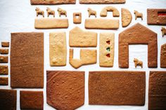 Basic Gingerbread House Walls, a recipe on Food52