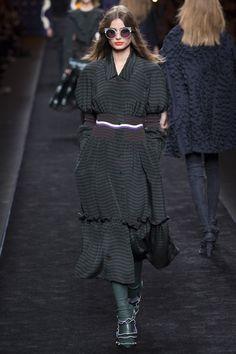 Taylor Hill for Fendi - Fall/Winter 2016 - Milan Fashion Week.