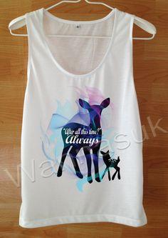 Harry Potter always Shirt Womens Cool shirt Custom by wannasuk