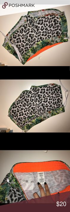 NEW HURLEY SHORTS Summer shorts Hurley comfy shorts for the pool or around the house! Nver worn! Hurley Pants Leggings