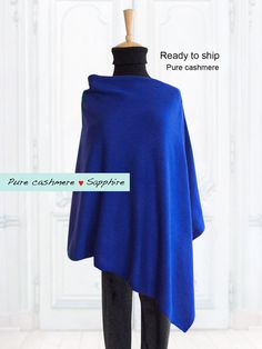 Pure cashmere poncho / Poncho / Cape / Pure cashmere by SoftyWooly Cashmere Poncho, Custom Made, Knitwear, Cape, Cover Up, Pure Products, Elegant, Sweatshirts, Sweaters