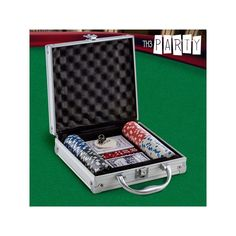 Luxe Th3 Party Poker Set with Case (100 chips)